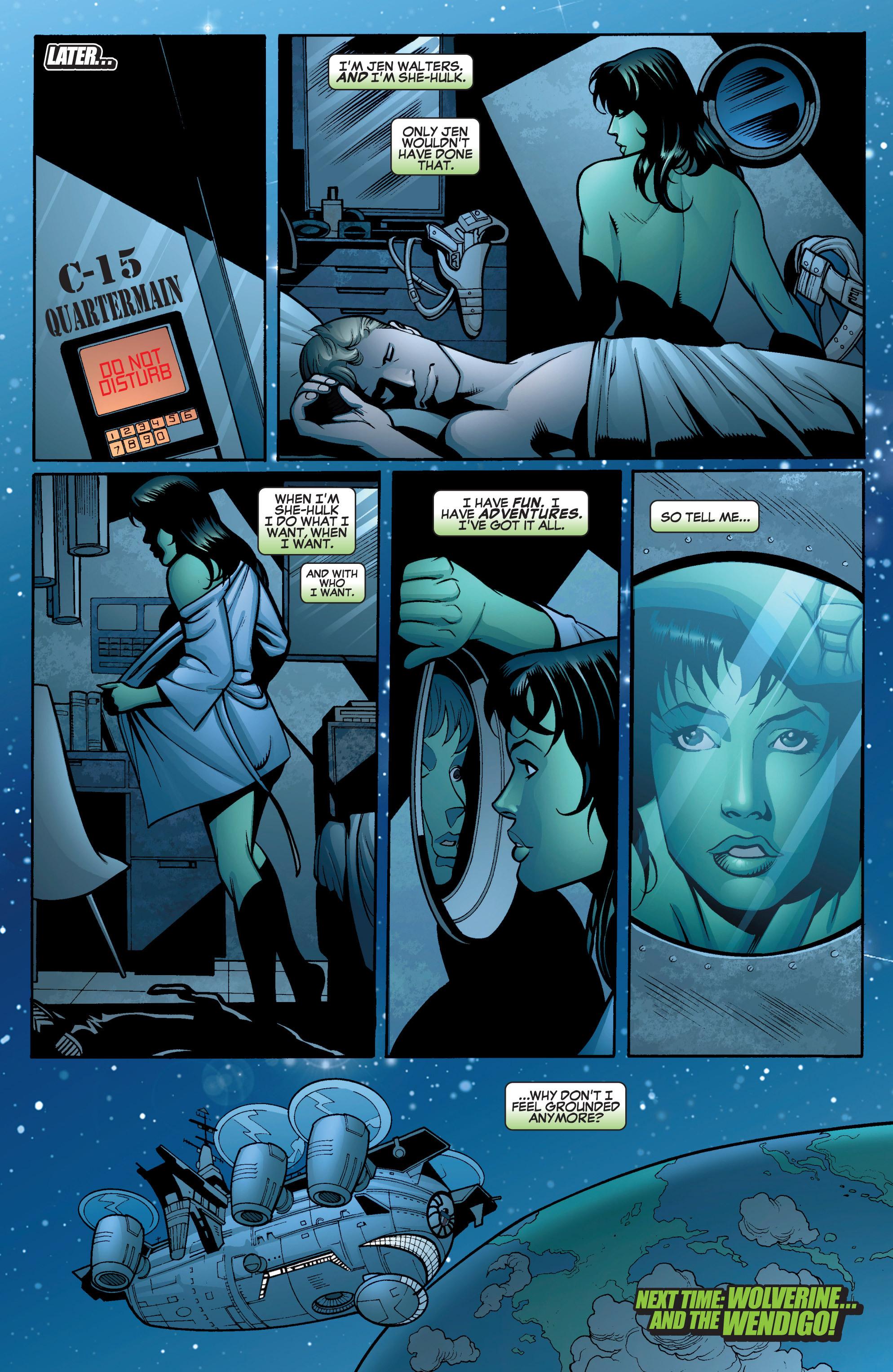 Read online She-Hulk (2005) comic -  Issue #15 - 23