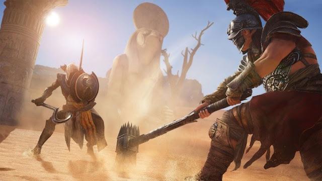 لعبة Assassin's Creed Origins تحصل على تحديث 1.0.5 و هذه مميزاته