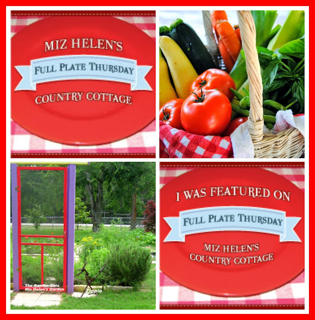 Full Plate Thursday, 390 at Miz Helen's Country Cottage