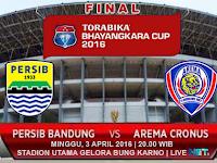 Persib vs Arema Cronus: Final Piala Bhayangkara 2016