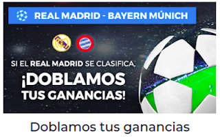 Paston promocion Real Madrid vs Bayern 1 mayo