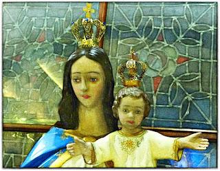 Nossa Senhora e Menino Jesus- Igreja do Rosário, Porto Alegre