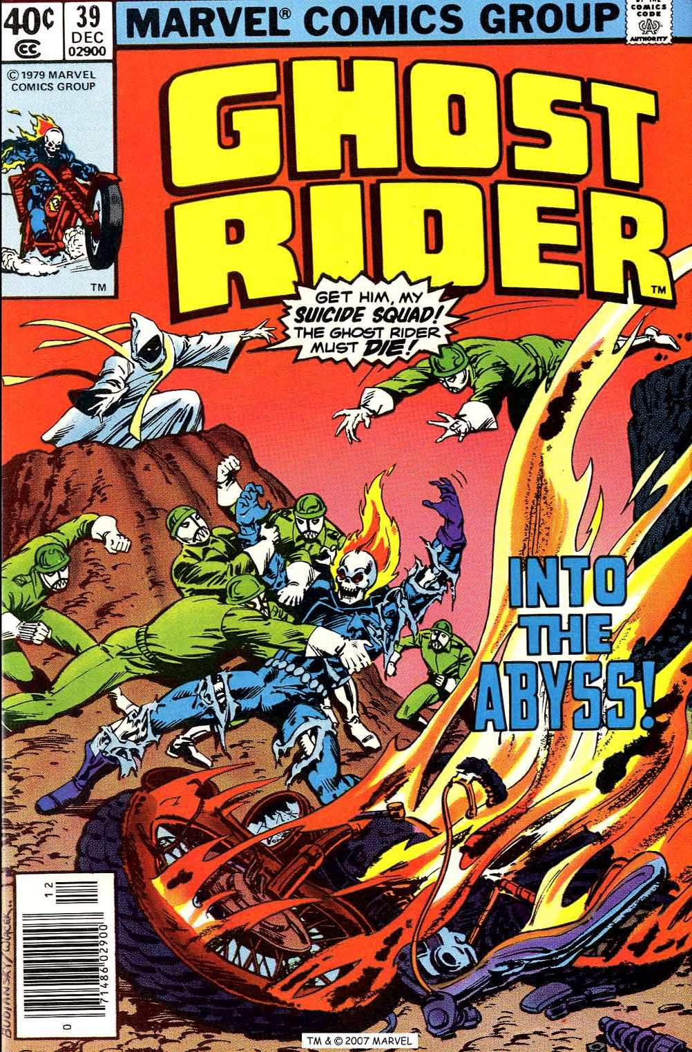Ghost Rider (1973) issue 39 - Page 1