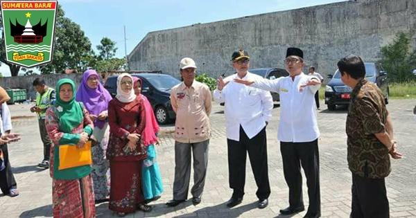 Wagub Nasrul Abit Tinjau Lokasi Penas Tani 2020