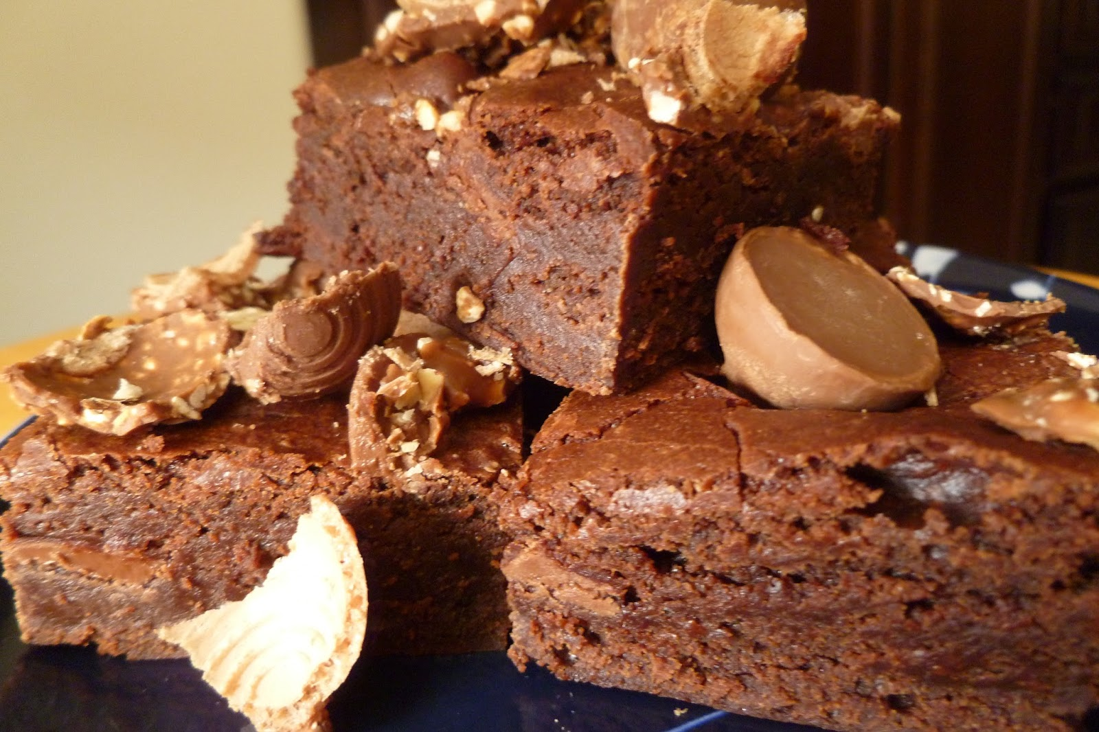 Nutella Topped Brownies The Pastry Chefs Baking The Classic Brownie Swirled With