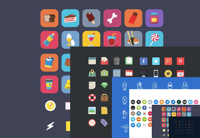 40 best free icon sets 2016 free download