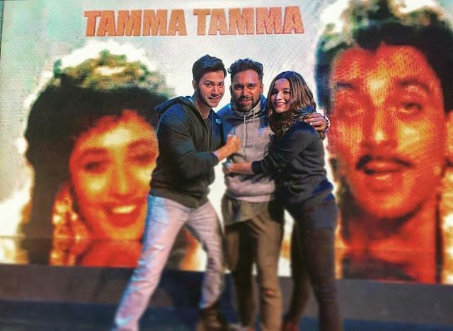 "Alia & Varun to recreate iconic song ""Tamma Tamma Loge"""