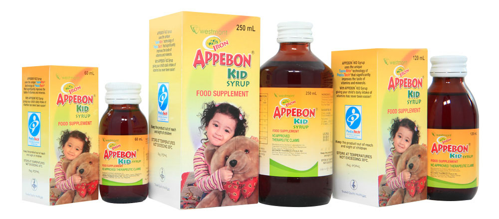 Vitamins to increase appetite in children