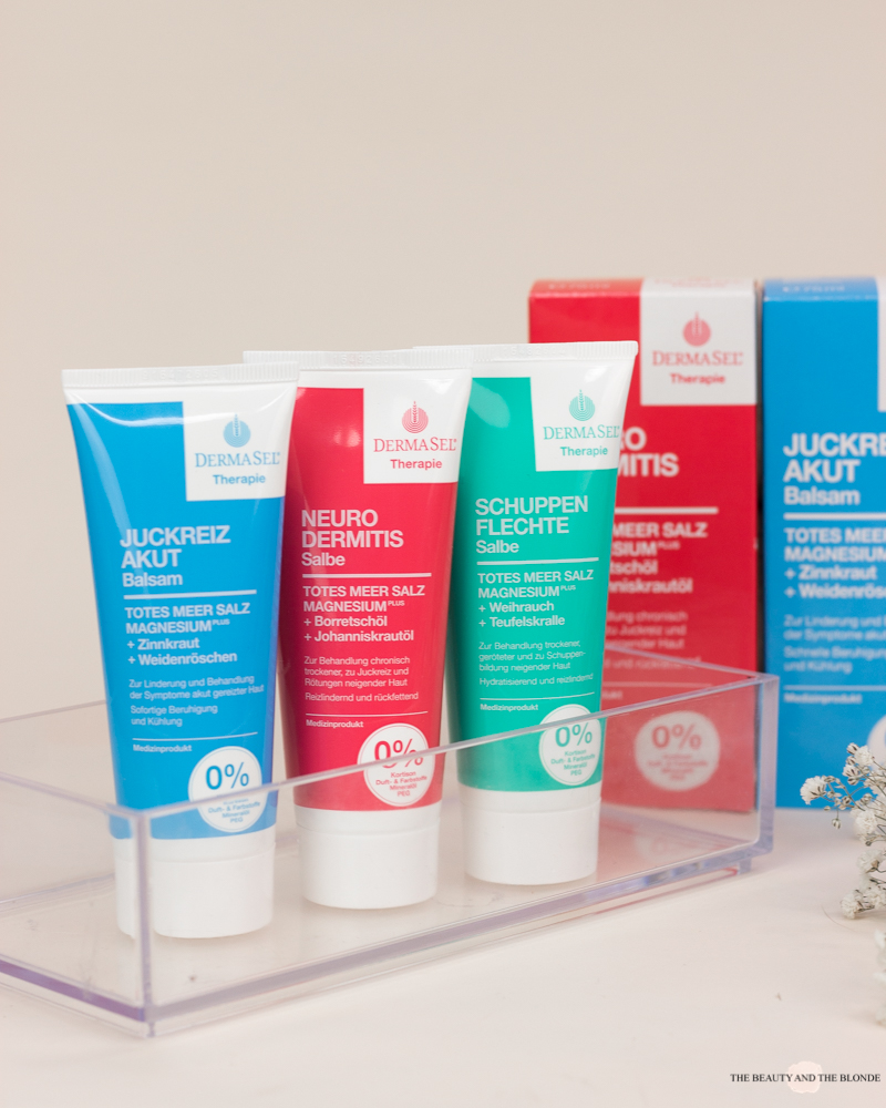 DermaSel Therapie Medizinische Hautpflege Neurodermitis Schuppenflechte Juckreiz Creme