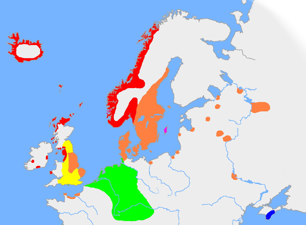 Germanic languages around 900