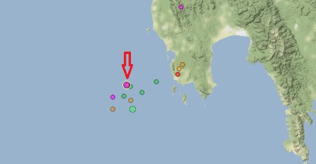 Σεισμική δόνηση 4,2 Ρίχτερ νοτιοδυτικά της Πελοποννήσου