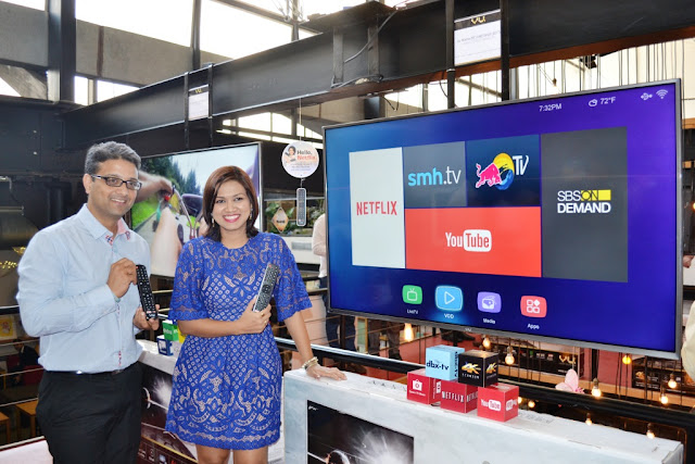 vu tv in association with flipkart