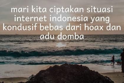 Peranan Blogger Untuk Menciptakan Situasi Internet Indonesia Yang Kondusif