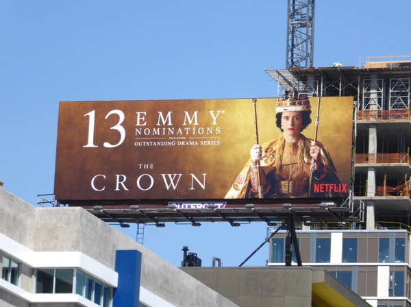 Crown 2017 Emmy nominations billboard