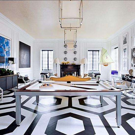 inspirasi contoh desain keramik lantai rumah minimalis
