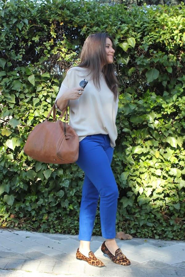 DIY como hacer un pantalón azul. Costura avanzada