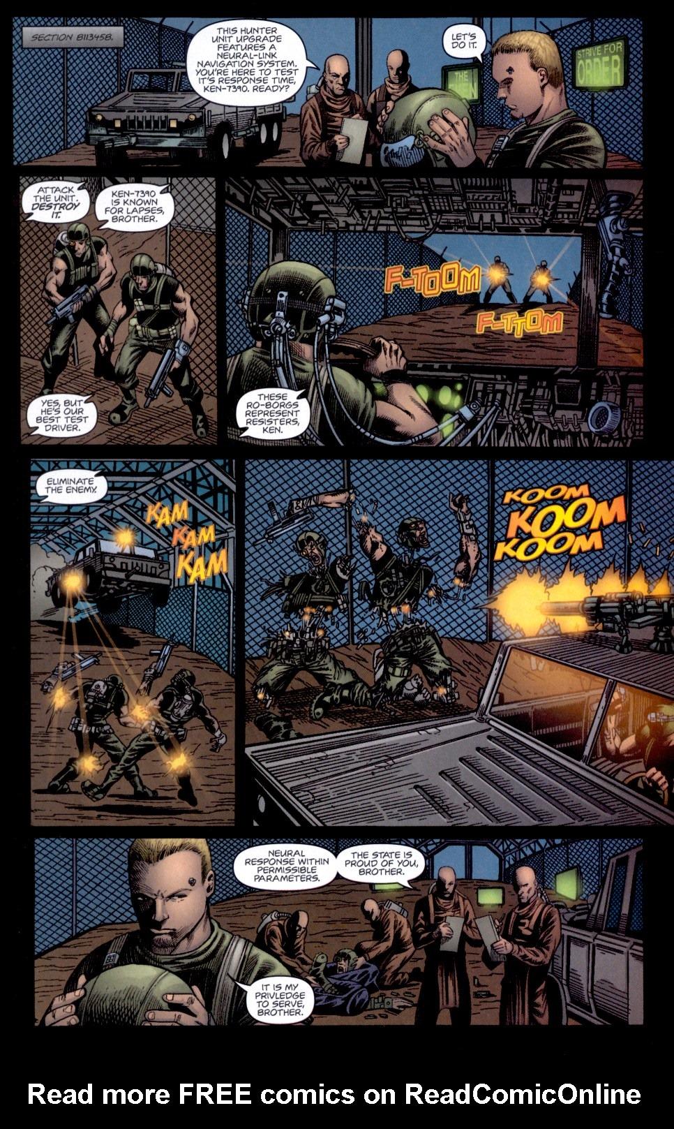 Read online Static-X: Machine comic -  Issue # Full - 5