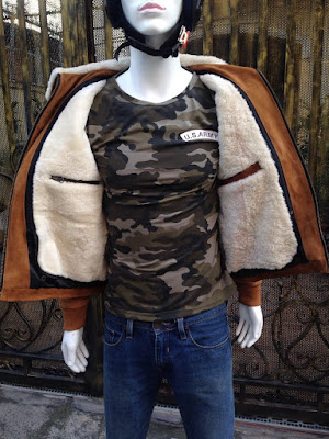 áo da lót lông cừu