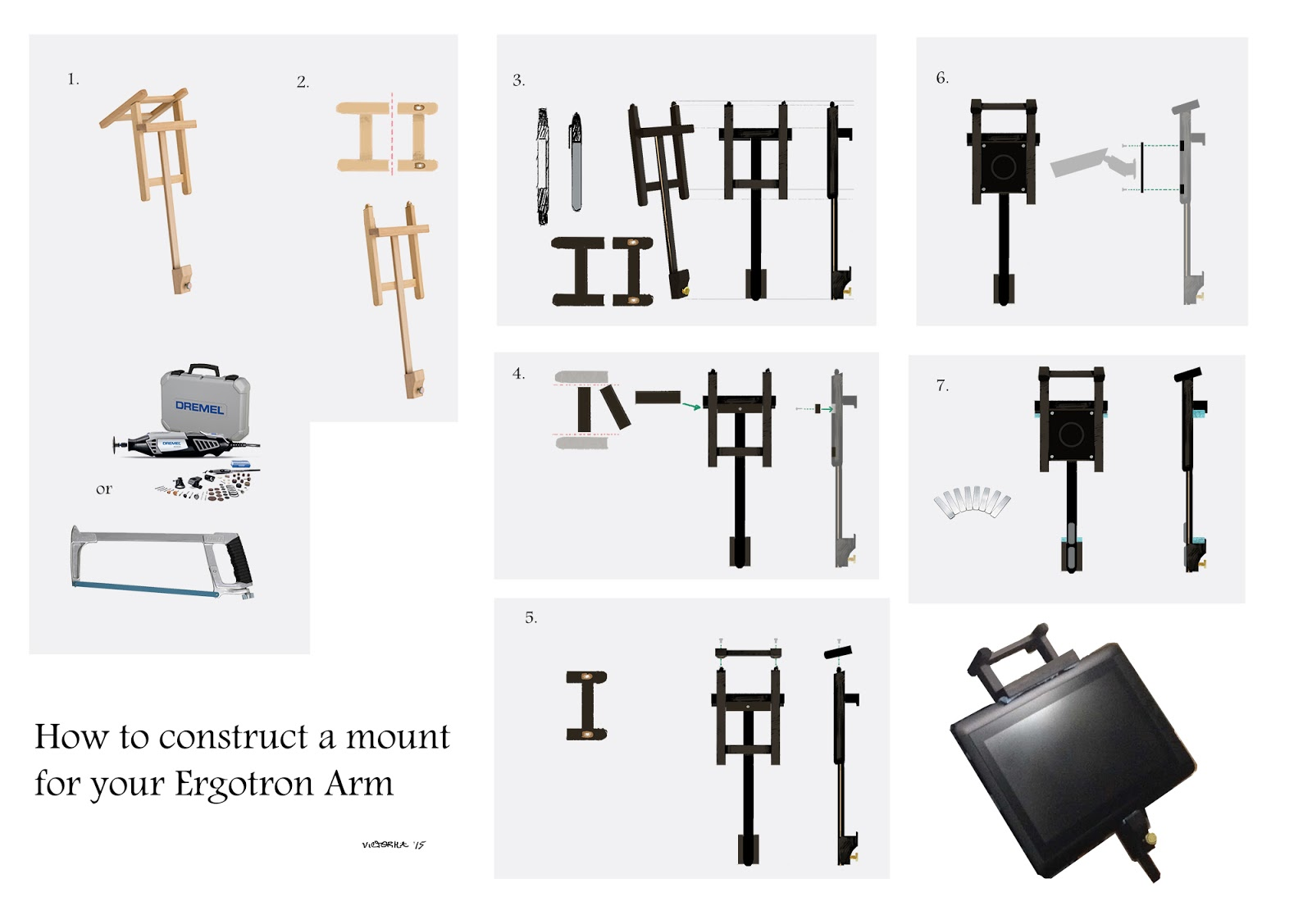 Victor Ha : In-depth diagram and process for Mounting