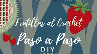 Frutillas para decorar - DIY
