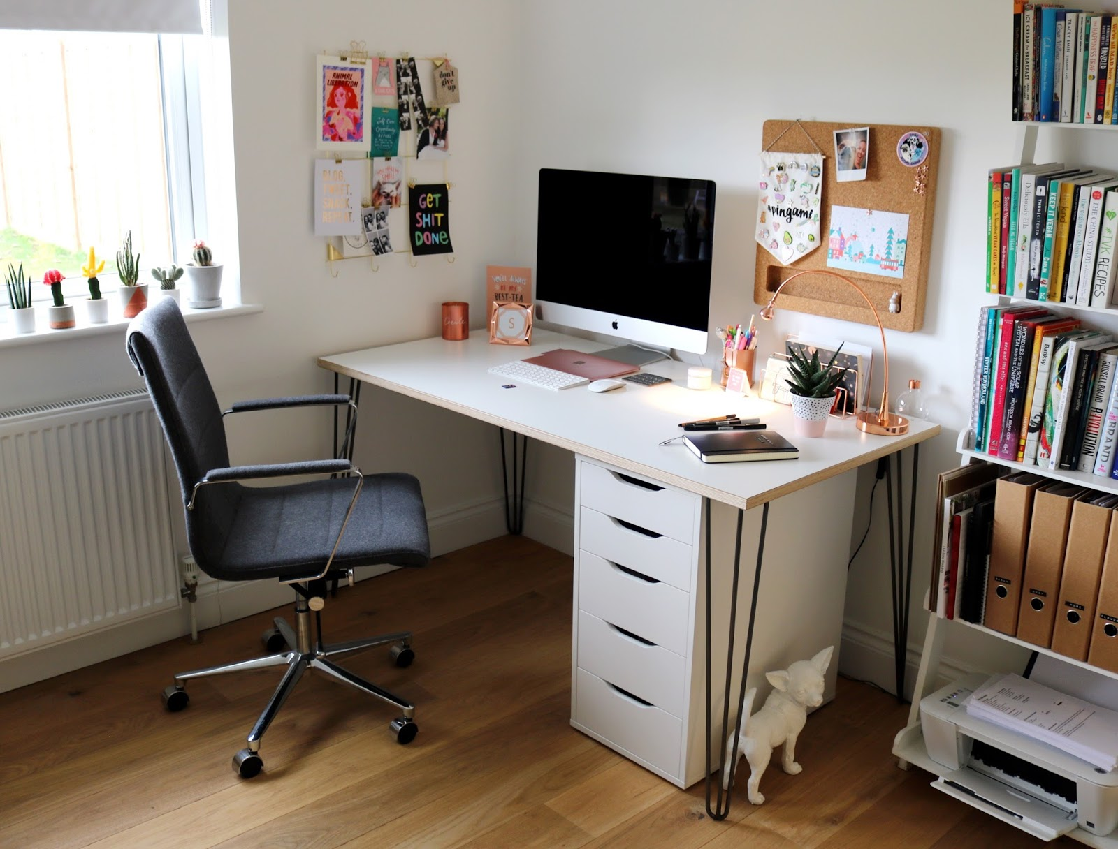 home office interiors. As A Freelancer, Blogger And YouTuber My Home Office Is Where All The Magic Happens! It\u0027s Room That I Couldn\u0027t Quite Get Right In Our Last House Interiors