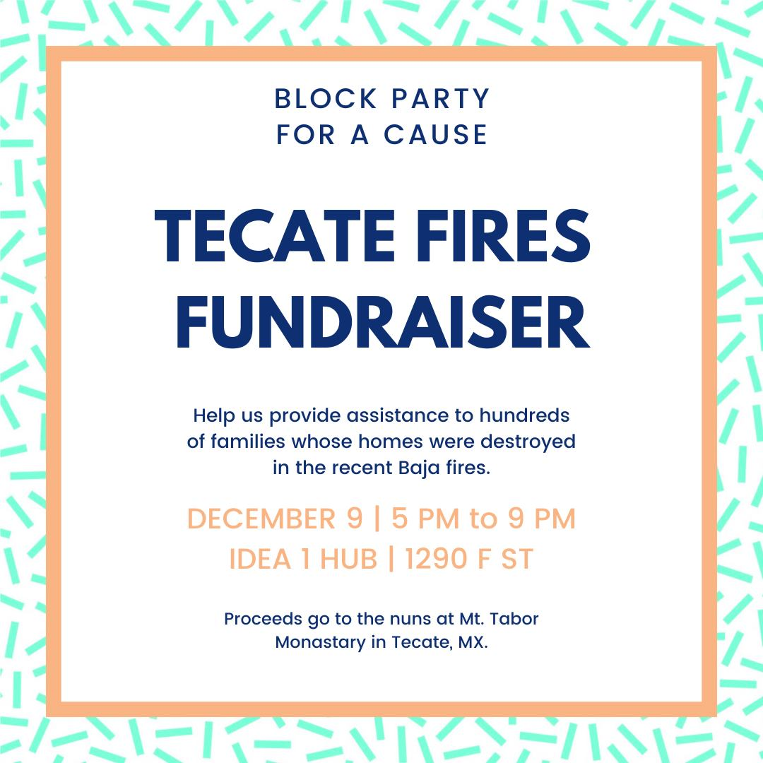Don't Miss LOLA 55's Block Party For A Cause Supporting Tecate Wildfire Relief - December 9!