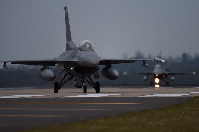 USAF F-16 RAF Lakenheath