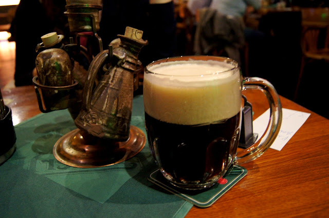black beer Prague