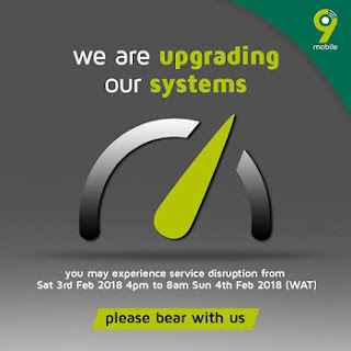 9mobile System Upgrade