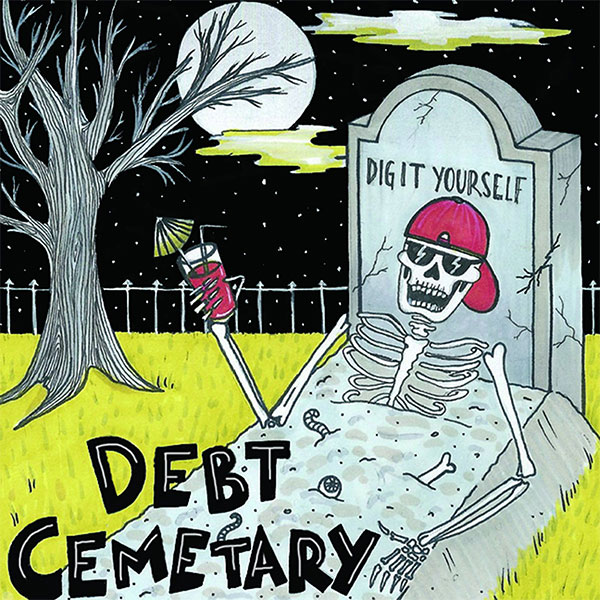 """Debt Cemetary stream new EP """"Dig It Yourself"""""""