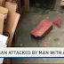 NY ヘルズキッチンでレンガを持った男が無差別に男性を襲う