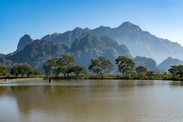 Kyaik-Ka-Lat - Hpa An - Myanmar Birmanie