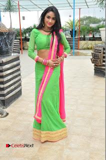 Actress Pooja Sri Pictures at Dandiya Navrang Utsav 2016 Curtain Raiser Event  0222.JPG