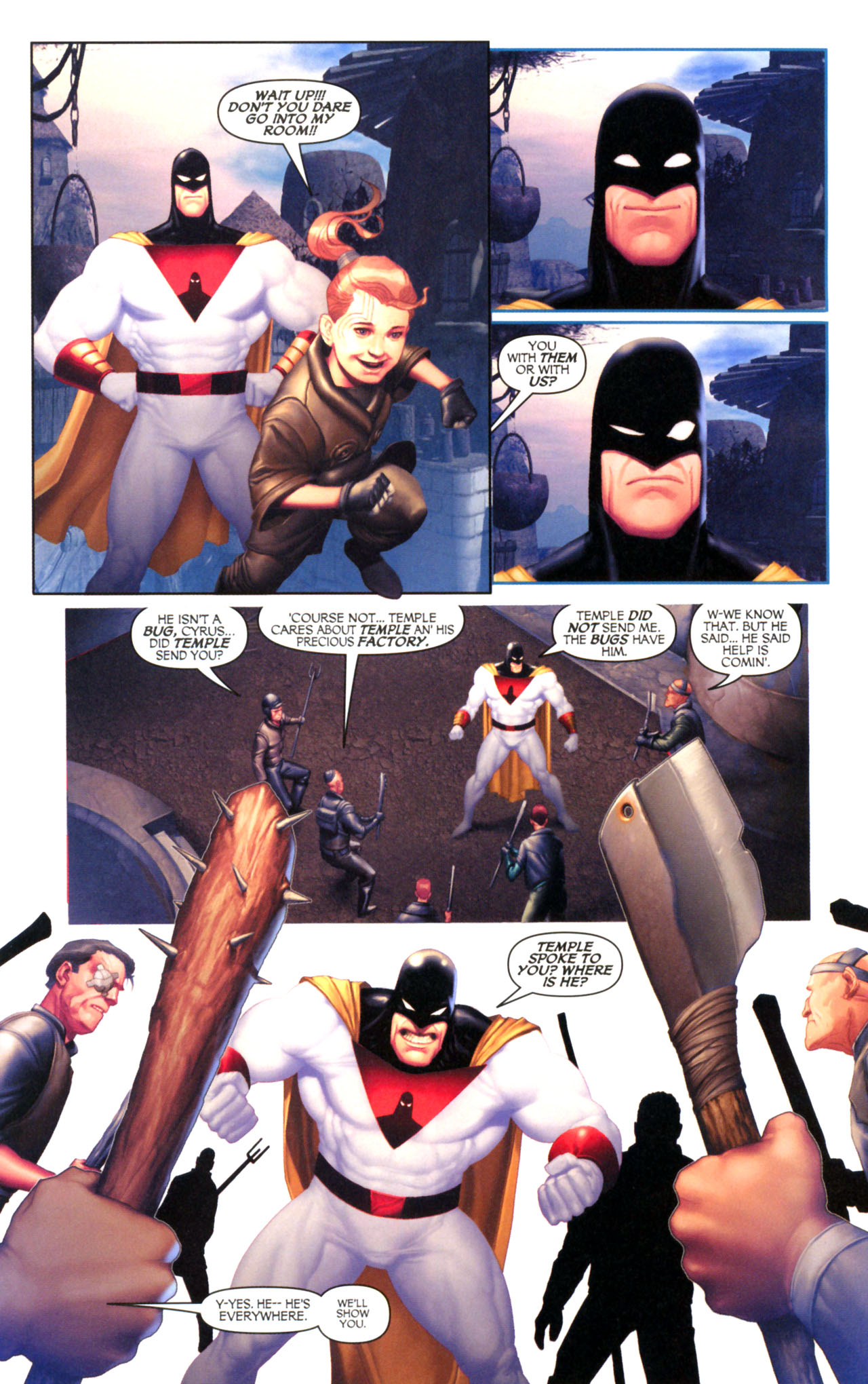 Read online Space Ghost (2005) comic -  Issue #5 - 5