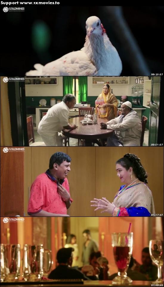 Kanchana Returns 2017 Hindi Dubbed 480p HDRip 350mb