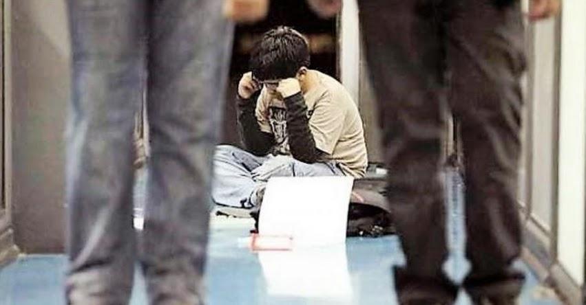 Región Junín es la tercera región del país con más casos de bullying
