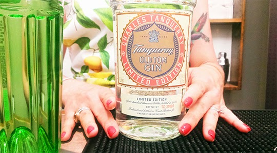 gastronomista tanqueray old tom gin