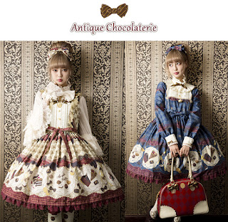 mintyfrills sweet lolita cute kawaii fashion fall new print