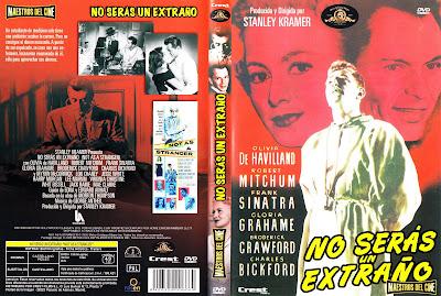 Carátula dvd: No serás un extraño / Not As a Stranger / 1955