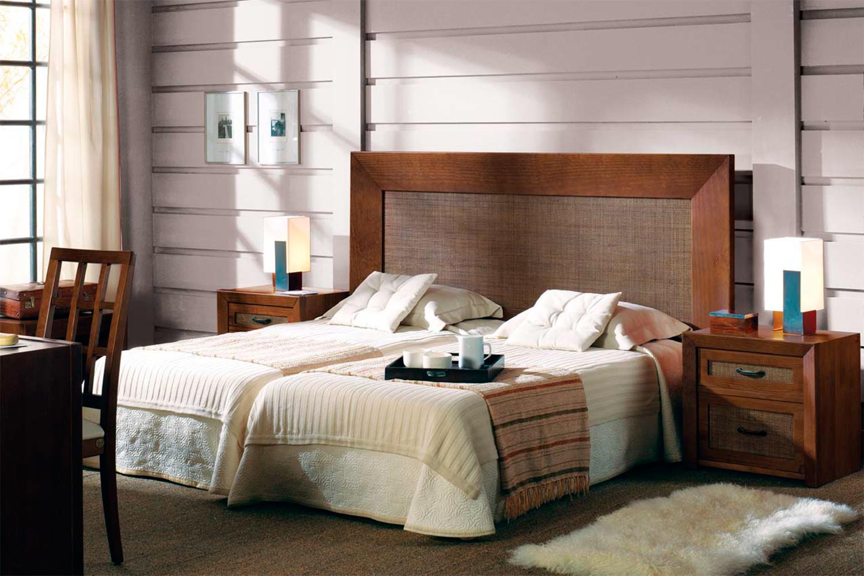 Muebles de dormitorio cabeceros de madera de estilo colonial - Cabeceros coloniales ...