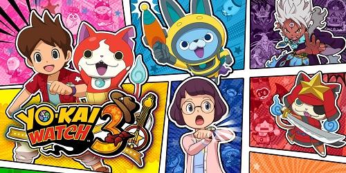 Yo-Kai Watch 3 Gameplay