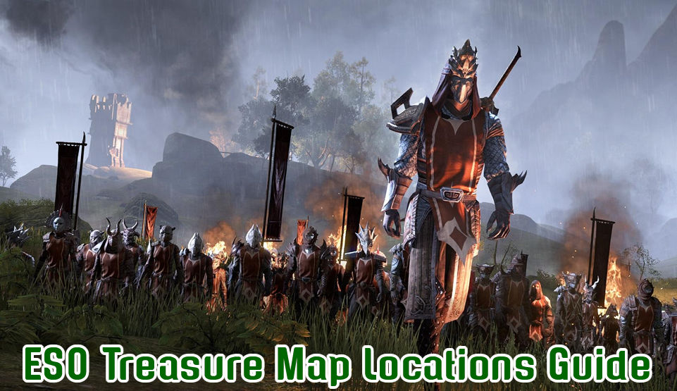 ESO Treasure Map Locations Guide