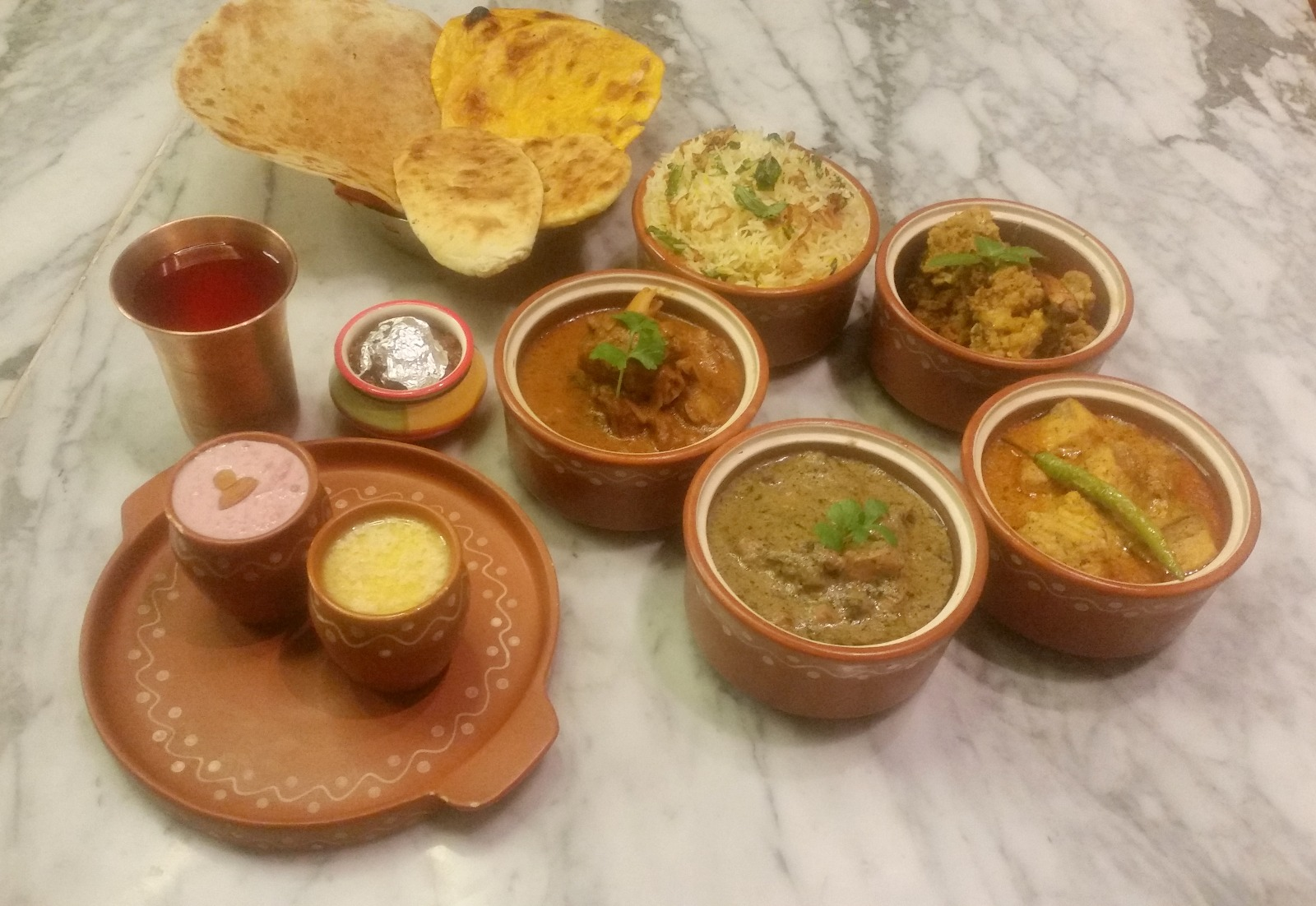 Chef mujeebur rahman and the regal kitchens of oudh at for Awadhi cuisine menu