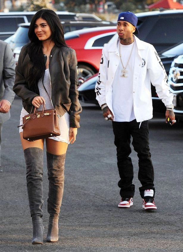 Kylie Jenner and her boyfriend Tyga seen together after split-up
