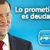 Con Rajoy la deuda pública alcanza la cifra récord de 1.138.899 millones, el 100,03% del PIB