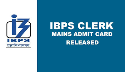 IBPS Clerk Mains Admit Card Download