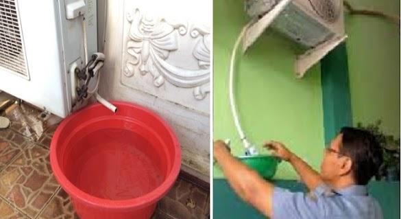 Jangan Dibuang! Ini 5 Manfaat Air Buangan AC Yang Tidak Banyak Dikėtahui Banyak Orang!