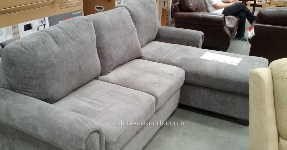 Pulaski Newton Convertible Chaise Sofa Costco Weekender