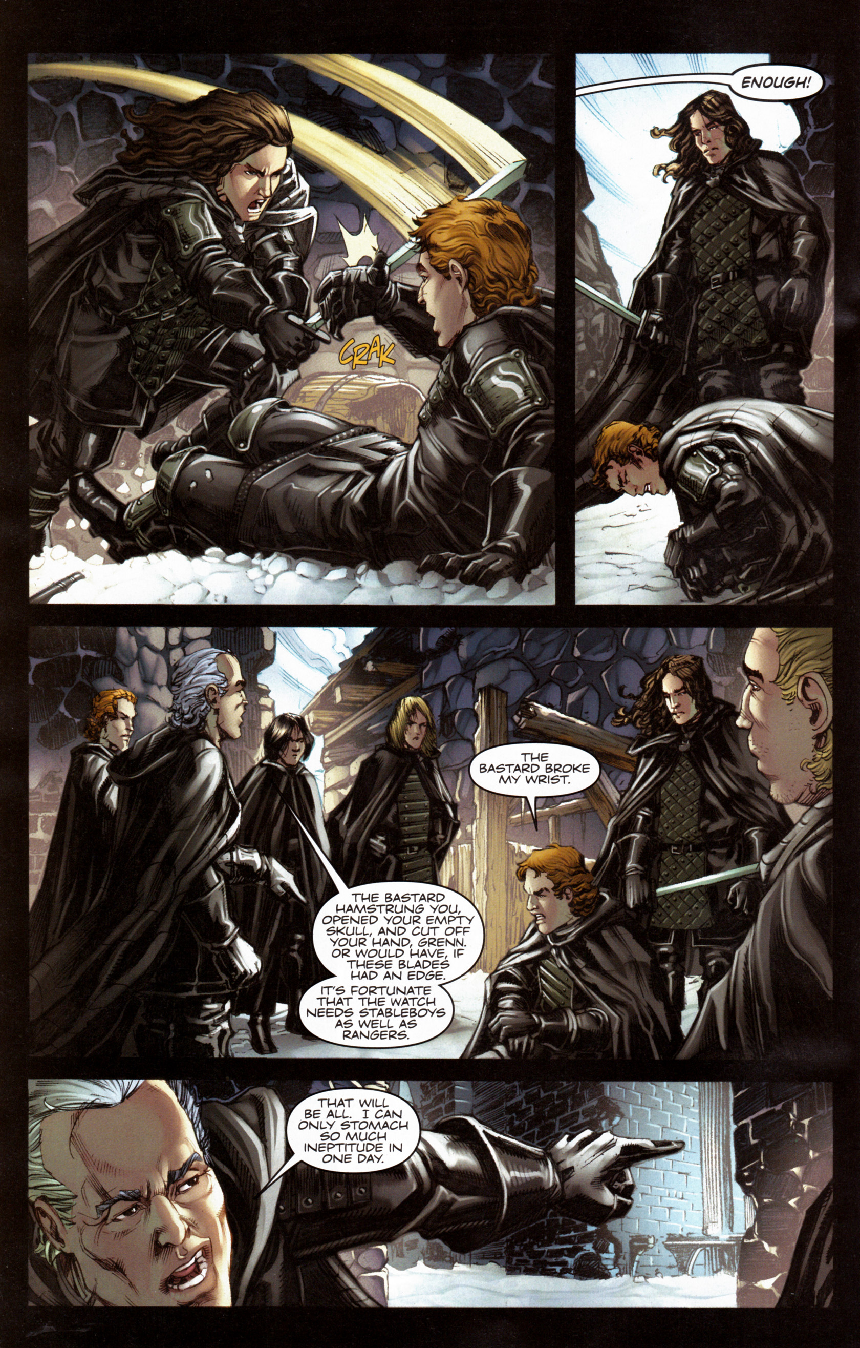 Read online A Game Of Thrones comic -  Issue #6 - 4