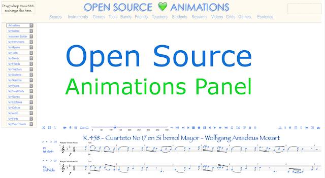 Open music visualisation visualizations source animations panel contributions score driven github repository comparative musicology. #VisualFutureOfMusic #WorldMusicInstrumentsAndTheory